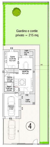 Villa Compact 04- Planimetria generale