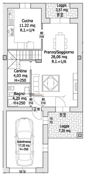Villa Compact 04- Piano terra