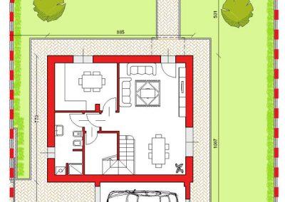 01-Villa abbinata di 153 mq