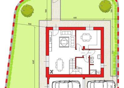 02-Villa abbinata di 153 mq