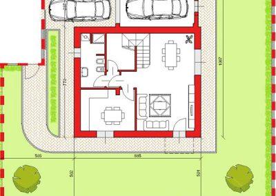 03-Villa abbinata di 153 mq