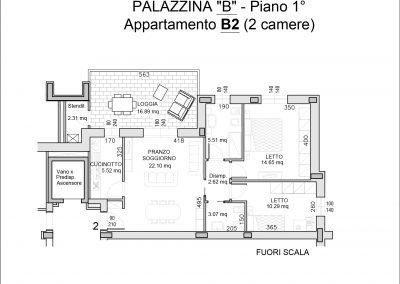 appartamento B2-mq 89,06