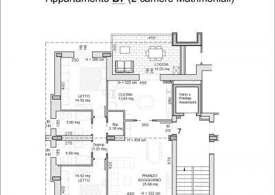 appartamento B7-mq 120,30-ATTICO